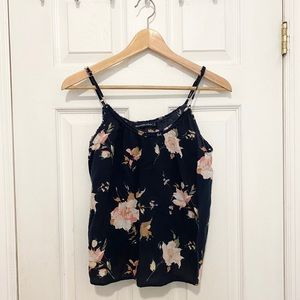 Abercrombie Floral Tank Top- Small
